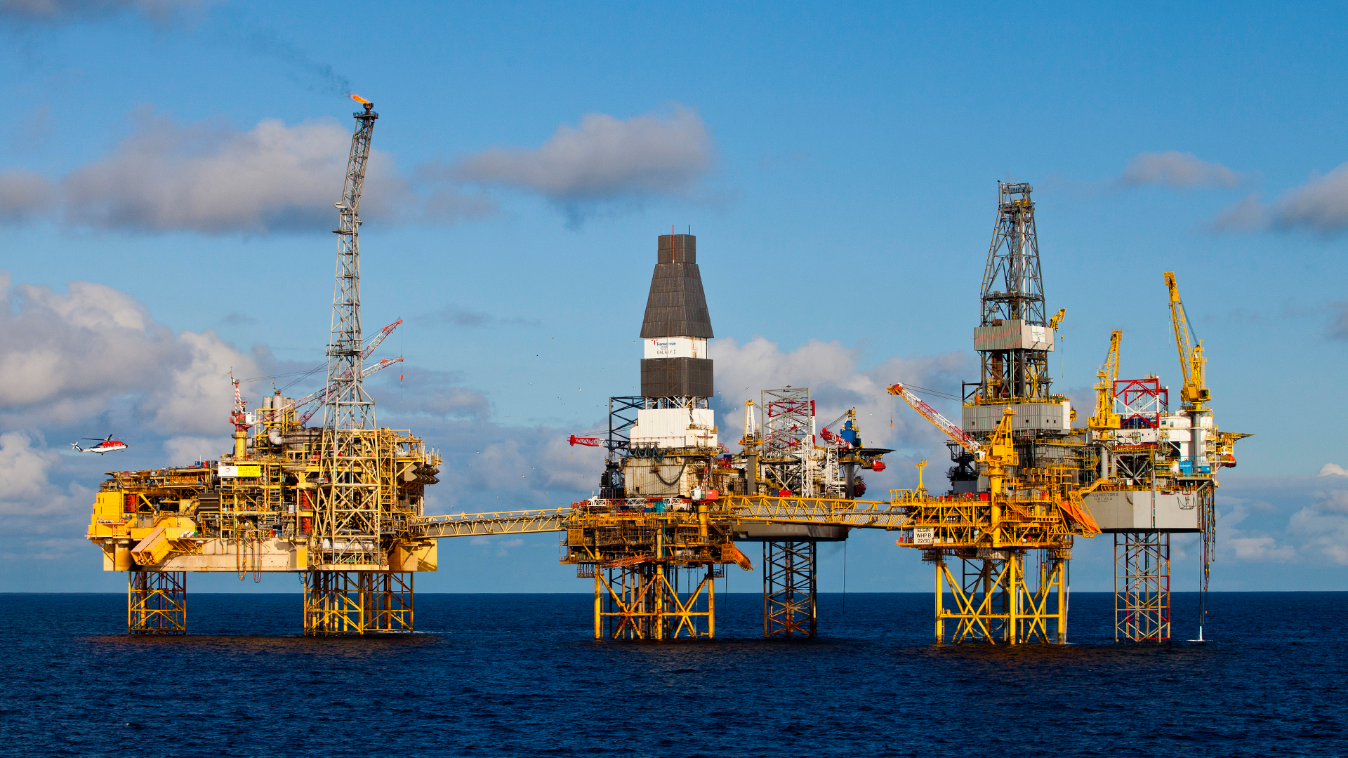 Oil and gas exploration and production in the U K  North Sea