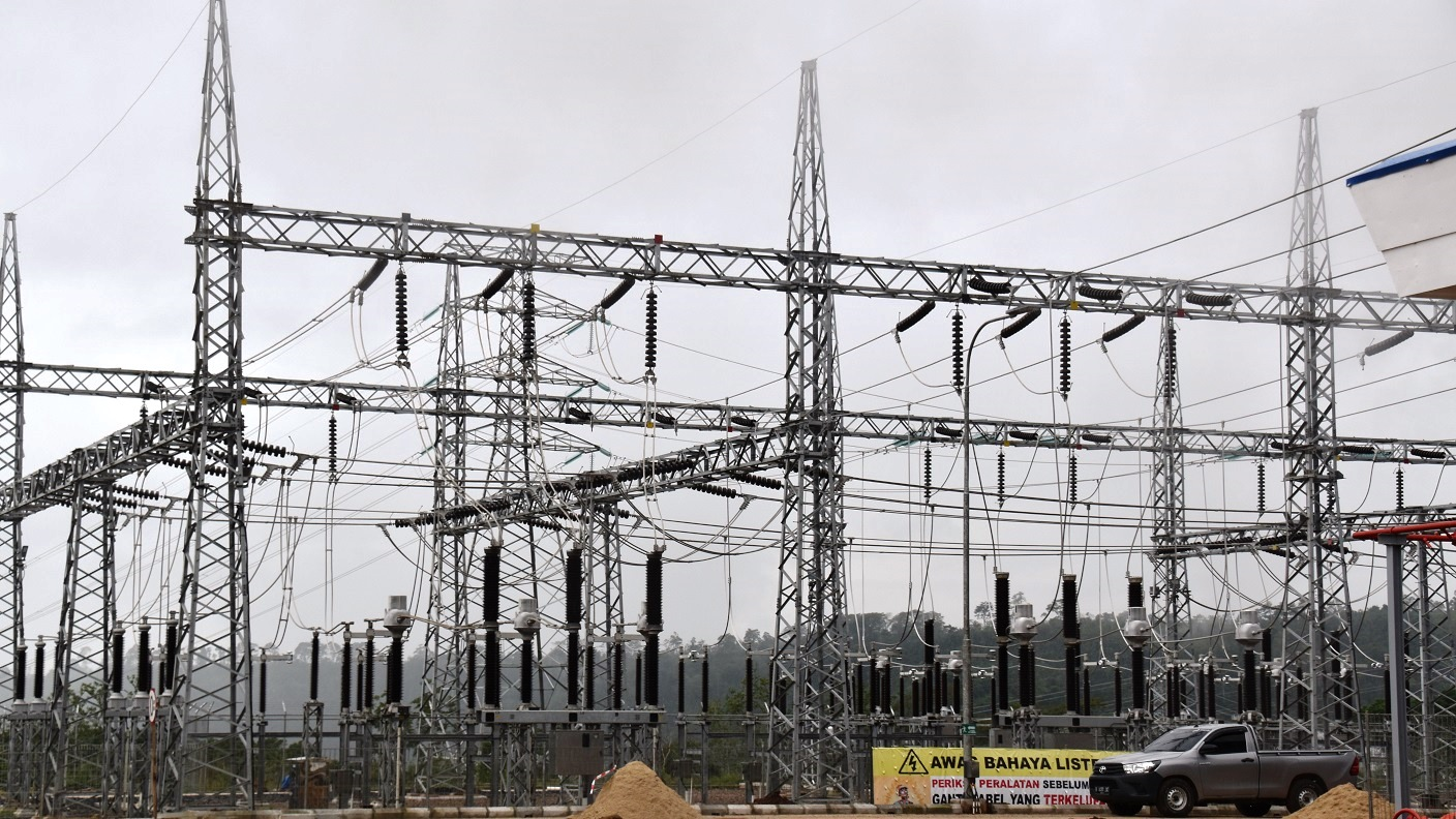 Striving To Provide Japanese Technology Meet Rising Power Demand What Is A Electrical Plant Switching Station Constructed Adjacent The From Which Supplied Towns Via Transformers