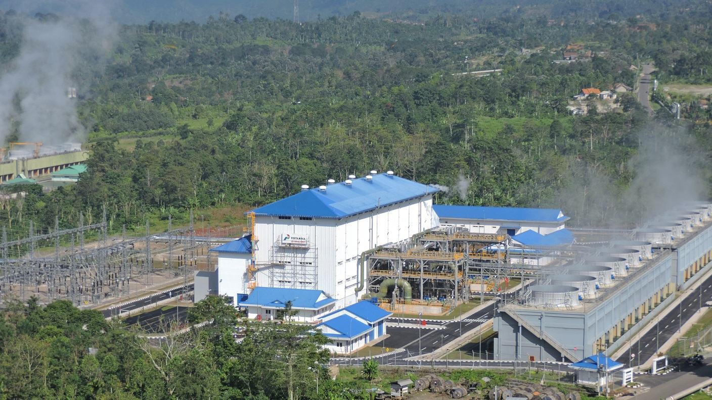 Sustaining Indonesia's power supply with geothermal power