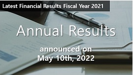 Latest Financial Results Fiscal Year 2019