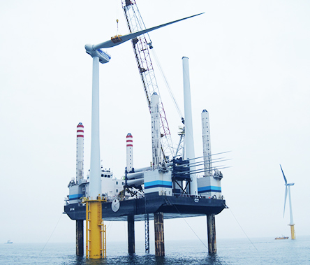 Taking on the enormous challenge of launching offshore wind power projects