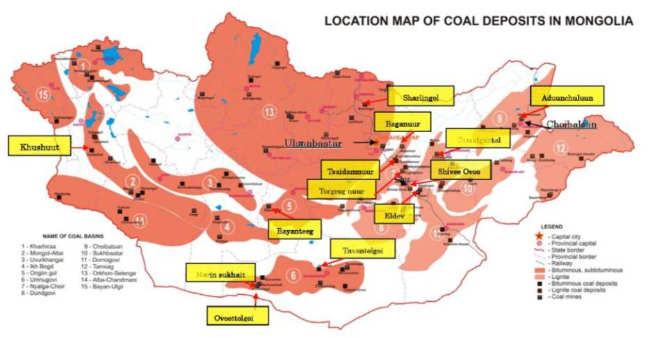 Sumitomo Corporations Coal Business Pursuing Responsible And Stable - Coal-map-us